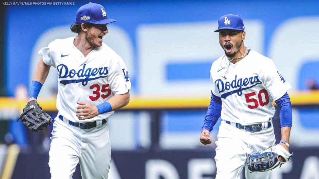 ONE. MORE. GAME.  The Dodgers, who were down 3-1 in the NLCS, have forced a Game 7 against the Braves 🔥 https://t.co/Ap5yB1s33V