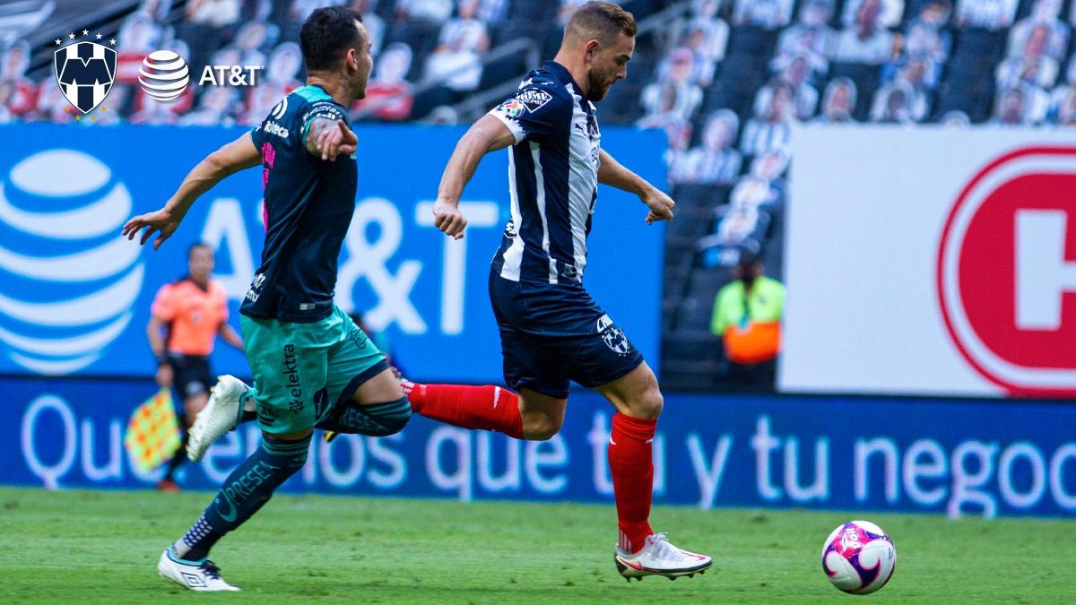 Monterrey derrota a Puebla y escala posiciones en la tabla, Nico Sánchez, Aké Loba y Funes Mori marcaron esta tarde