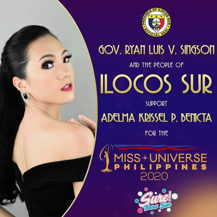 what are you waiting for!  Lets help Adelma Krissel Palomares Benicta secure a spot the Miss Universe Philippines TOP 16!   Just click the link below:    #mupilocossur #MissUniversePhilippines2020 #ArangkadaADELMA #sureilocossur