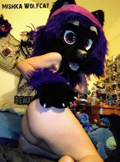 1 pic. A wild Mishka appears! What will you do?  A. Smack that fat ass B. Take off my top and suck my
