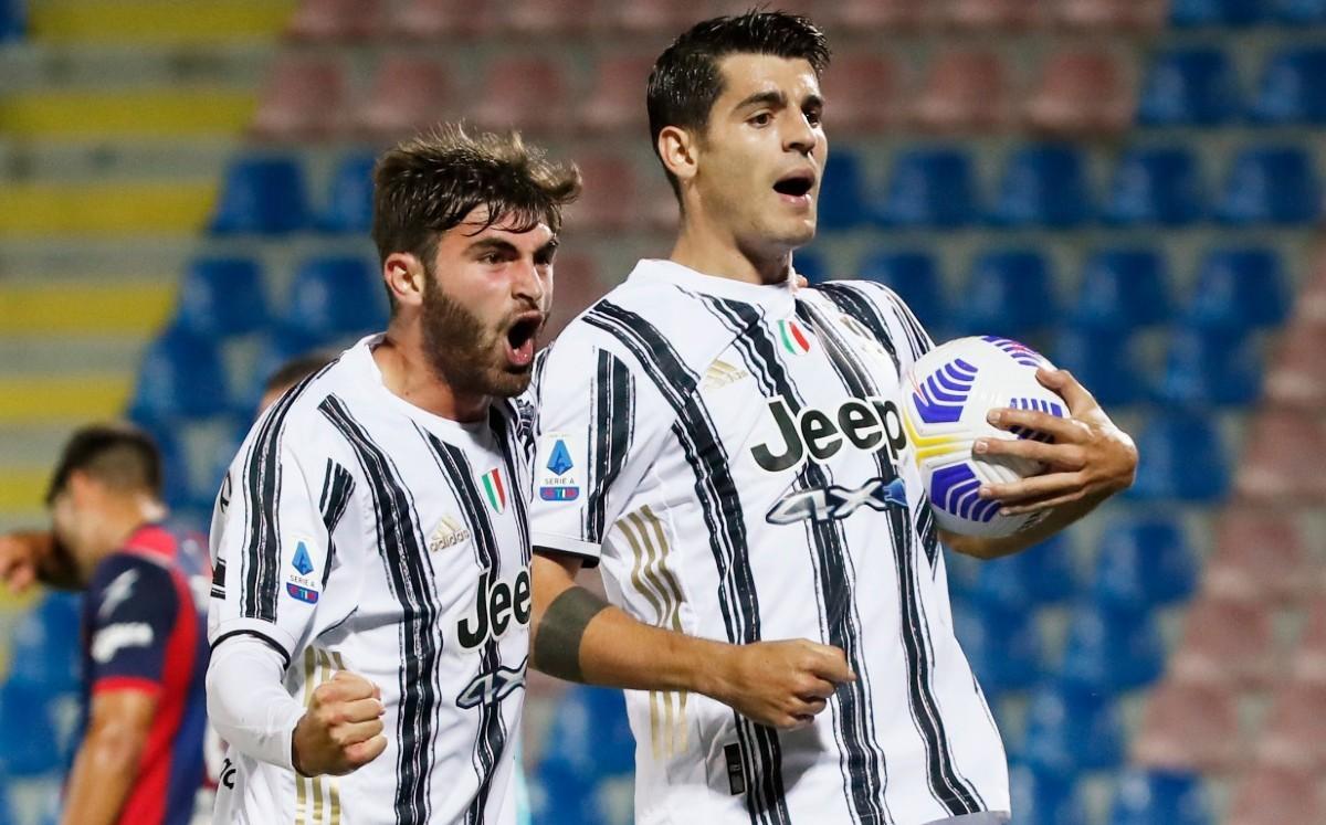 [Crónica] Álvaro Morata se viste de héroe para una Juventus sin Cristiano; rescata empate  https://t.co/u7IiQTMS18 https://t.co/aDVmaHHypr