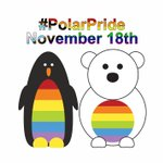 Image for the Tweet beginning: It's one month till #PolarPride!