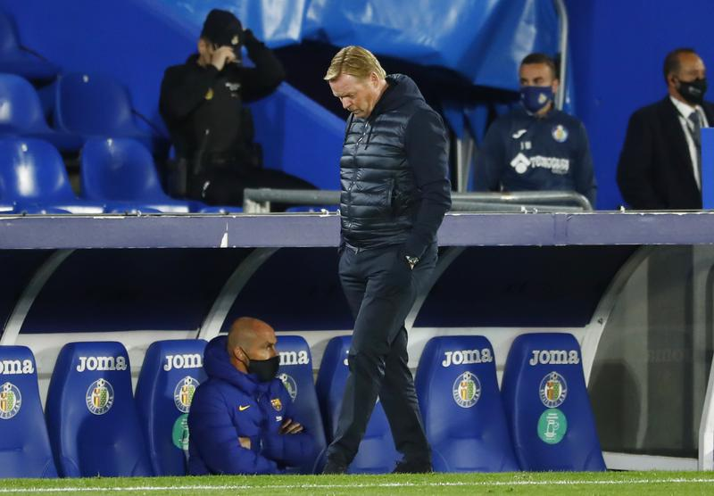 Koeman complains about 'lack of respect' from Getafe player after defeat https://t.co/OMUB5wIhkF https://t.co/J8xATuMvrf