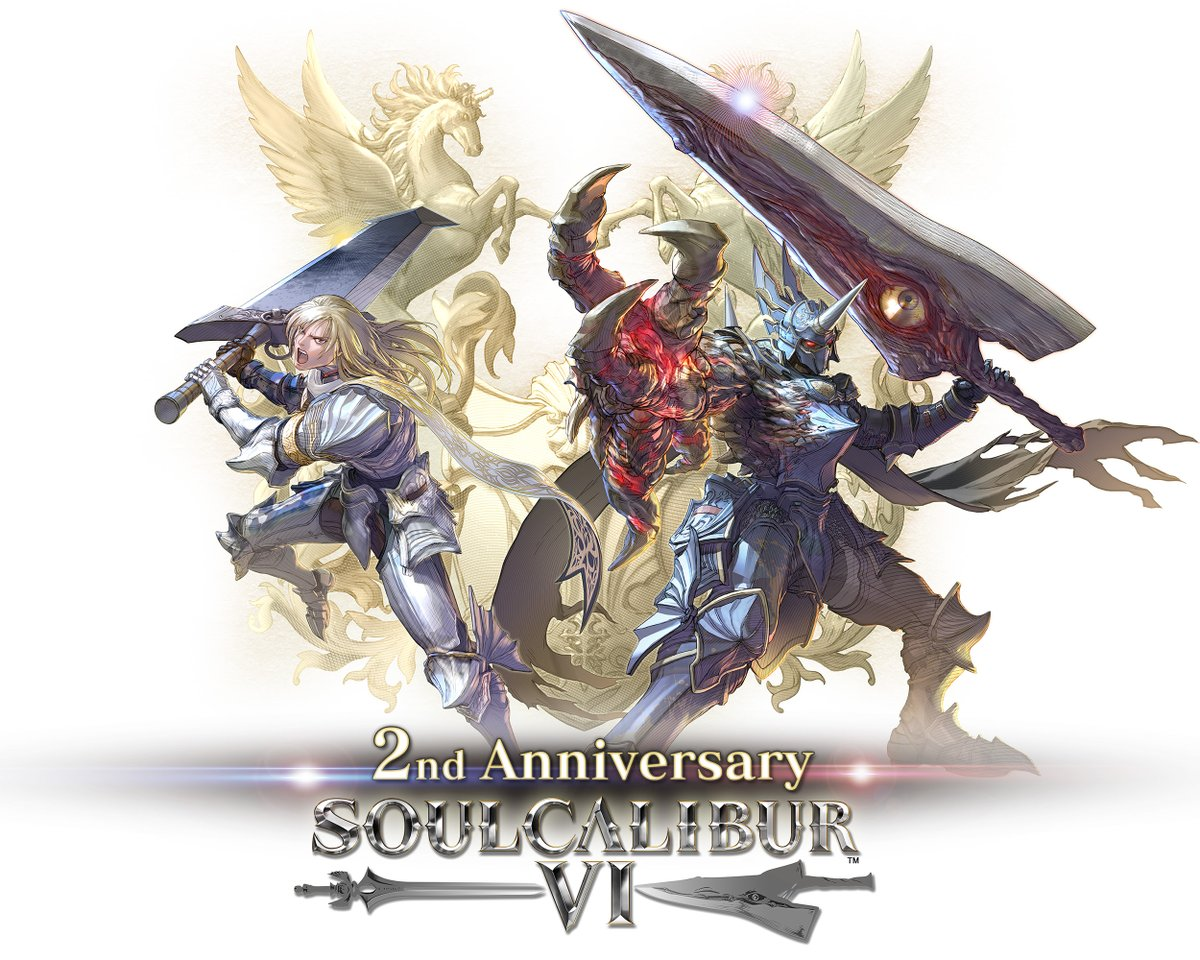 SOULCALIBUR VI, the 20th anniversary title in the series, is celebrating its second anniversary since its release, thanks to you all. Thank you for your continued support of the Soul Series! #SOULCALIBUR https://t.co/sNbOcc91I1