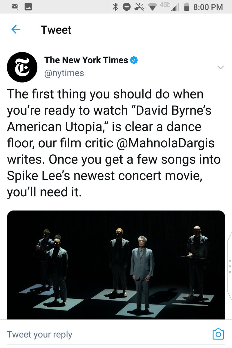 @nytimes @ManohlaDargis Nice of me to teach you both how your best film critic's name is spelled and how to punctuate. https://t.co/xcoqKC6054