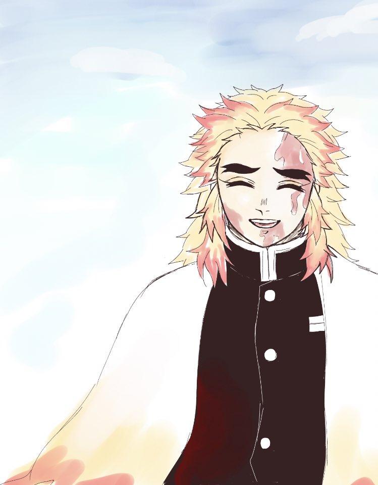 笑顔 煉獄 さん