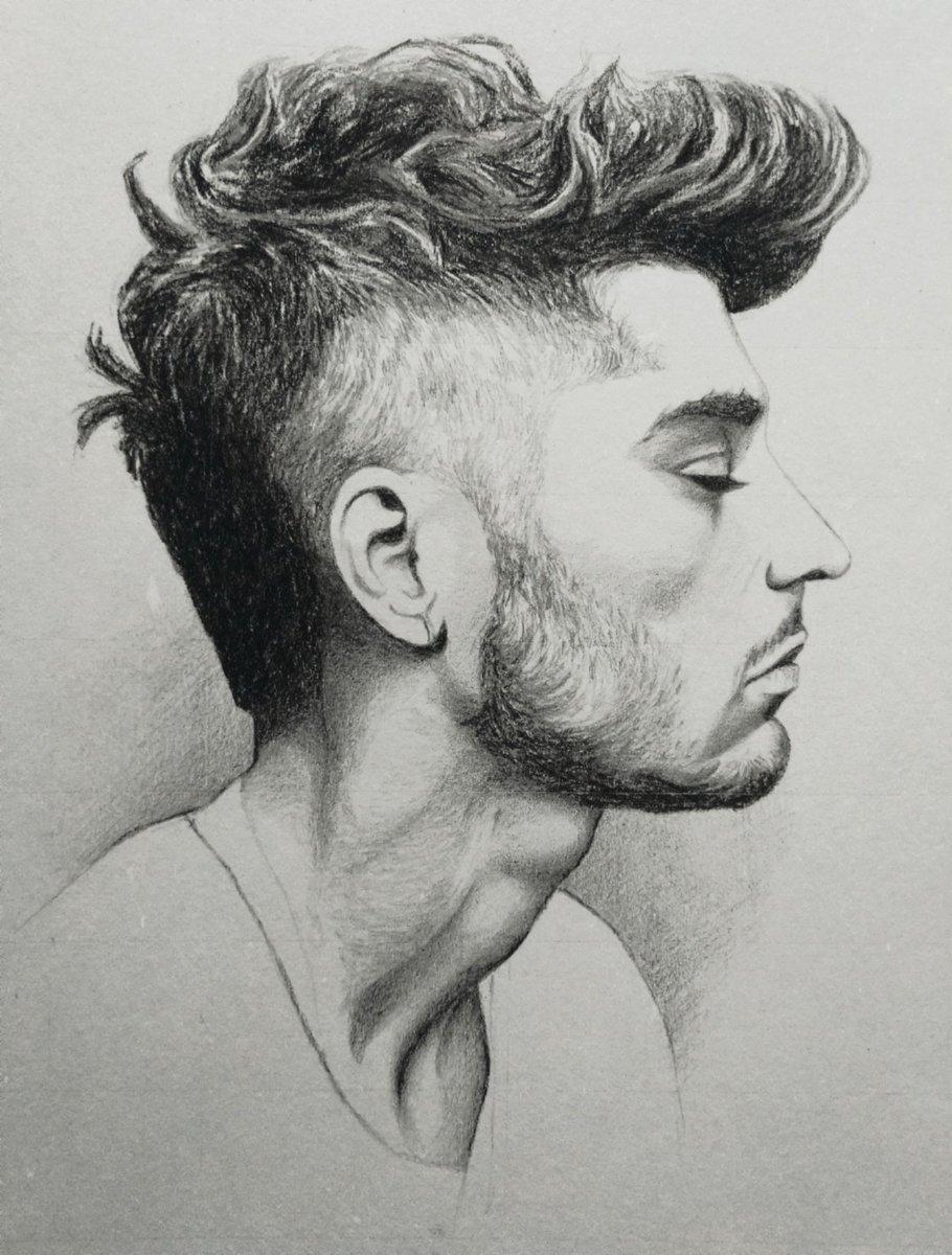 @chicken_anchili @zaynmalik My pencil drawing 👉