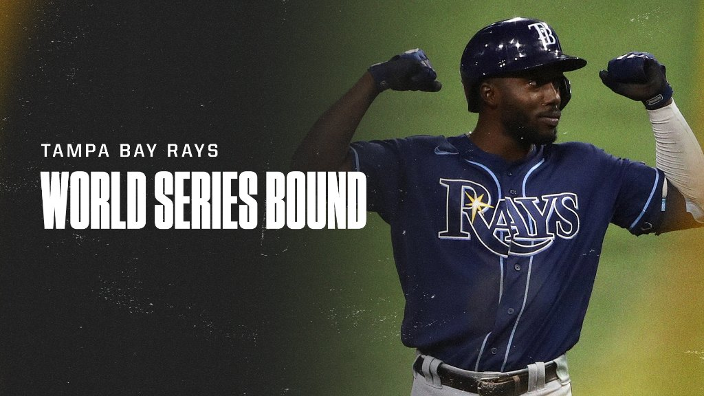 The Rays are World Series bound for the second time in history 🔥 #WorldSeries https://t.co/QWFt5lpWRB