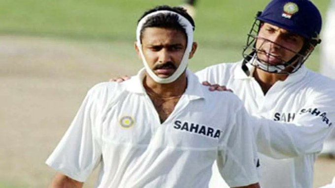If someone asks who is Anil Kumble , show these pics. Happy birthday