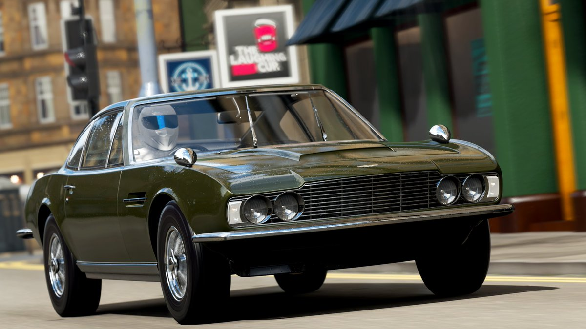 Car 556 - 1969 James Bond Edition Aston Martin DBS  #ForzaHorizon4 #ForzaShare #Xbox #Forza #HorizonPromo https://t.co/kj70KK3sKT