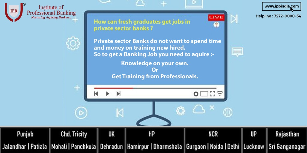 Private sector banks do not want to spend time and money on Training newly hired. Contact now  | +91 72720-00034 #mainnahibrozgar #retailbanking #PGCRB #90days #onlinestudy #stayhome #staysafe #education #covidsucessstory #worldpostday