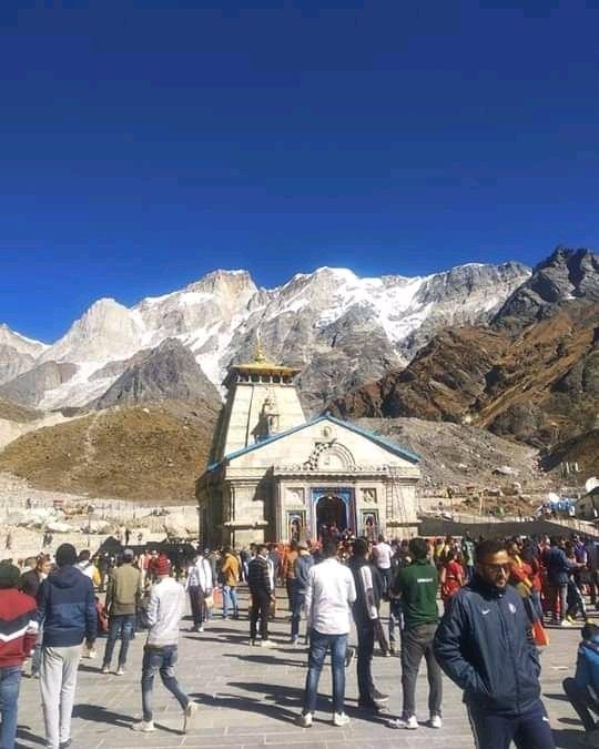 Shri kedarnath Dham__Today   Visit Shri kedarnath Dham Yatra with us👉8979266991 @MyAdventureClu1 https://t.co/Wt45PKIRBb