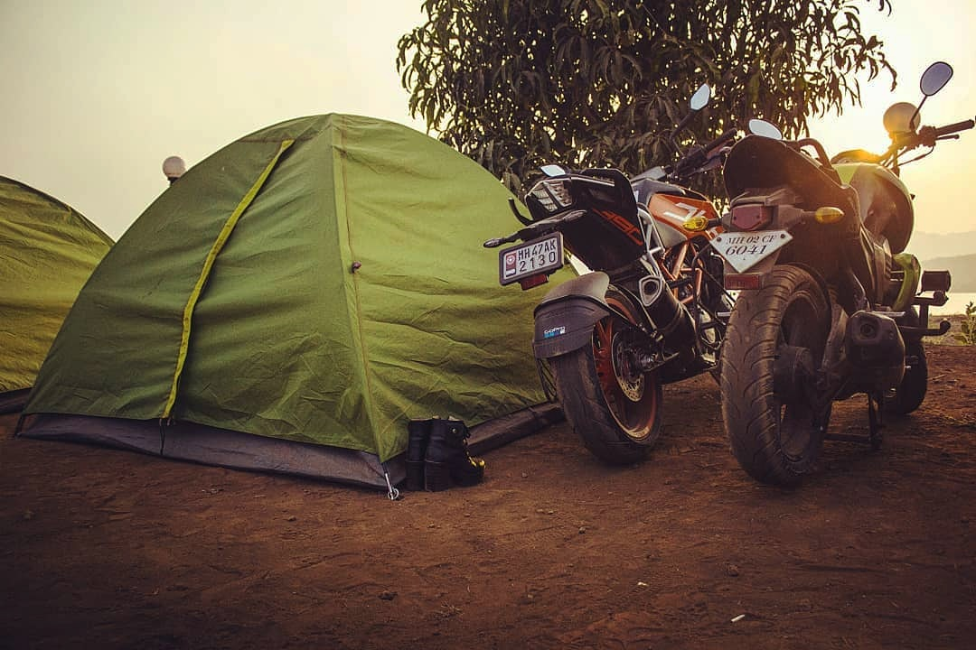 The road which leads to the end.   Visit :- https://t.co/JDTOXcduhk Call  :- 8381004848/9834122218  #pawnalakecamping #pawnacamp #tentlife #tentstay #bike #sunset #mumbaitravellers #punetravellers #lonavala https://t.co/EUTxks92Tg