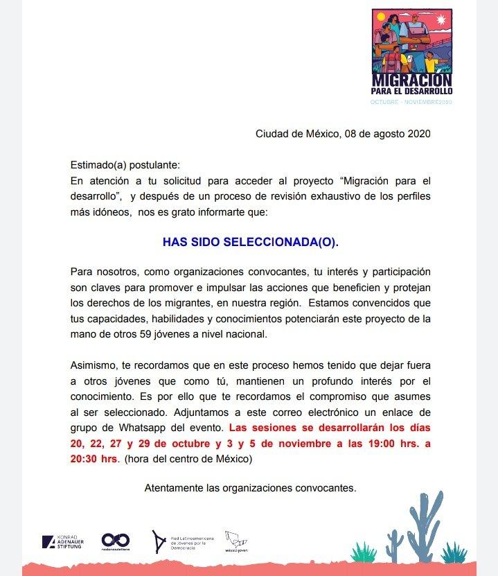 #KASMéxico 🇩🇪🤝🇲🇽 #MigraciónYDesarrollo #másymejordemocracia #KAS4Democracy https://t.co/ROlMtQiCHS