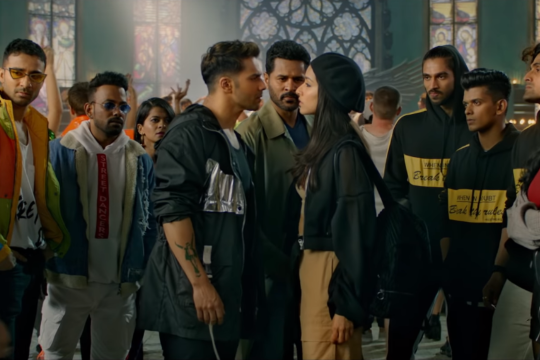 The way Varun and Shraddha argued in this movie was AMAZING @Varun_dvn @ShraddhaKapoor #StreetDancer3OnSonyMAX