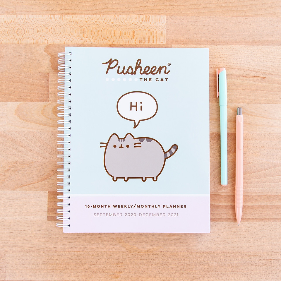 There are less than 3 months left in 2020 (thankfully) and 2021 cant come soon enough! Start the year off on a good note with this adorable #Pusheen planner 📝 bit.ly/31gACfM
