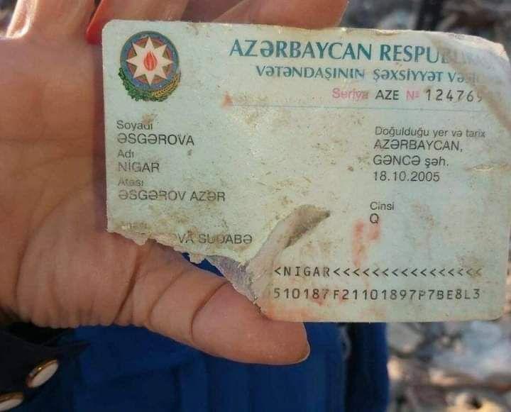 Today is my birthday, but yesterday the Armenians killed me. #sabahgelecek #HBDNigar15 #HappyBirthdayNigar #ArmeniaKillsCivilians #StopArmenianAggression #KarabakhisAzerbaijan #GanjaCity