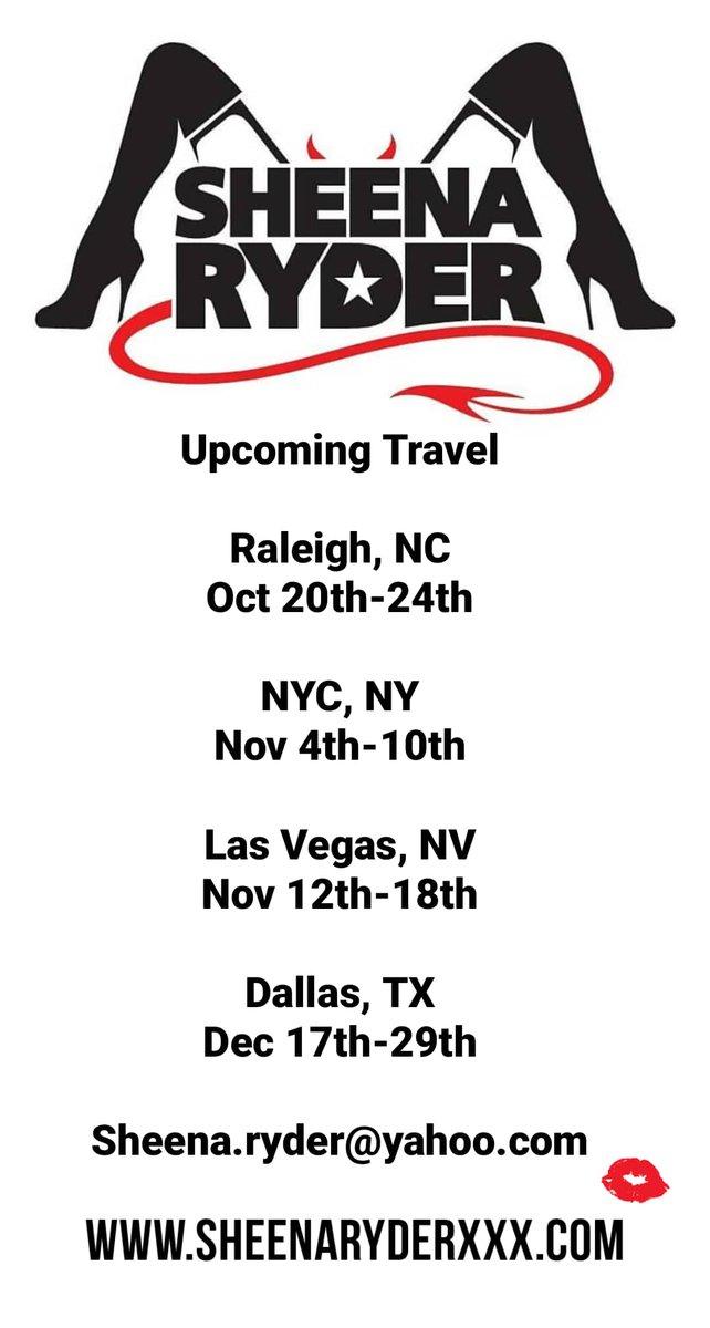 test Twitter Media - RT @SheenaRyder1: Upcoming Travel https://t.co/oWmkMFre2y