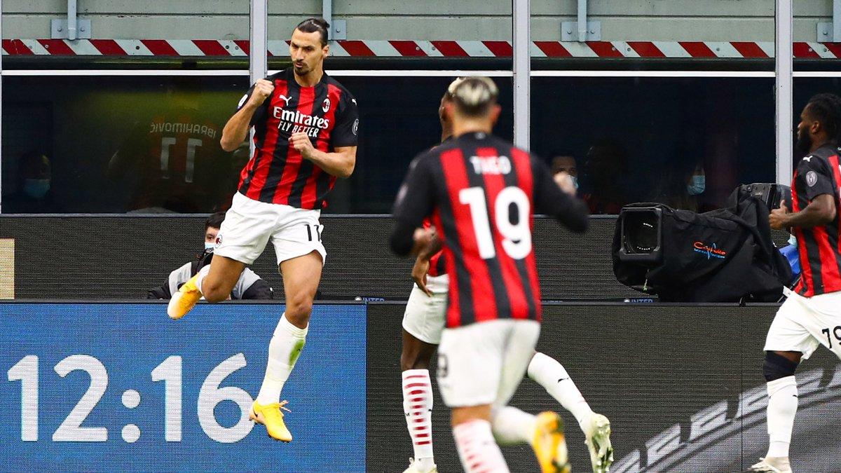 Nach Doppelpack gegen #Inter: #Milan-Star #Ibrahimovic prahlt, niemand könne ihn stoppen. #INTMIL  ➡️ https://t.co/UaAXB0VAz6 https://t.co/lcTbOTcEF5