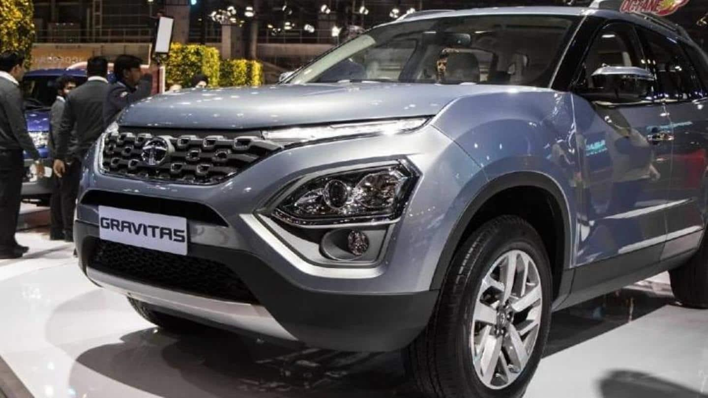 Tata Gravitas spied with new alloy wheel design Photo