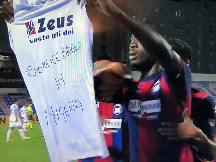 Crotone vs Juventus Simeon Tochukwu Nwankwo https://t.co/0Cr5xMLQH0