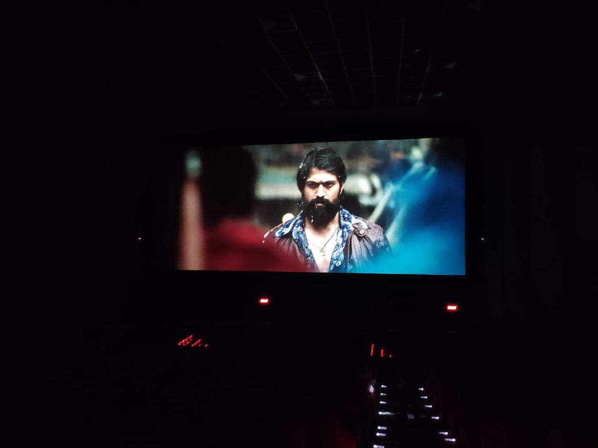 Enjoying the Theater Experience After 7 Months With @TheNameIsYash BOSS Movie #KGFChapter1  At @MirajCinemas #Raichur Waiting for #KGFChapter2 @prashanth_neel @hombalefilms @Karthik1423 @KRG_Connects @VKiragandur  #WeWantKGFChapter2Teaser https://t.co/BbWGtCc3x3