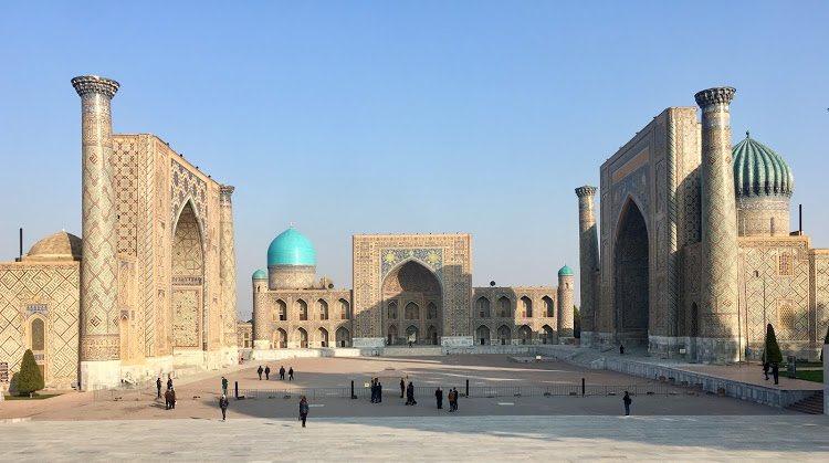 Happy birthday Samarkand!