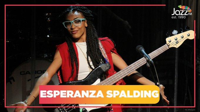 Happy Birthday to the Jazz FM Awards-winning bassist and vocalist Esperanza Spalding | |