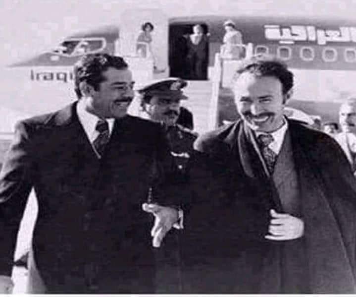 ابتسامة الشجعان لا يعرفها الجبناء ... هواري بو مدين 🇩🇿 صدام حسين 🇮🇶  الله يرحم لرجال https://t.co/7KV8QOHTHT