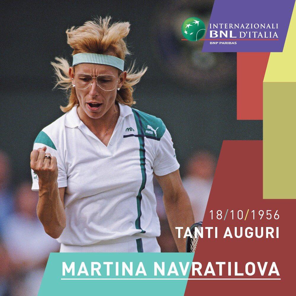 🎂 Buon compleanno ad una vera leggenda del #tennis #WTA: Martina #Navratilova!   🏆 344 titoli vinti, di cui 167 in singolare e 177 in doppio.   59 prove del Grand Slam...  #happybirthday https://t.co/kmUTCot7yg