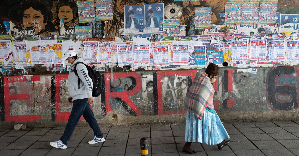 Bolivias Evo Morales looms large in Sundays election Photo