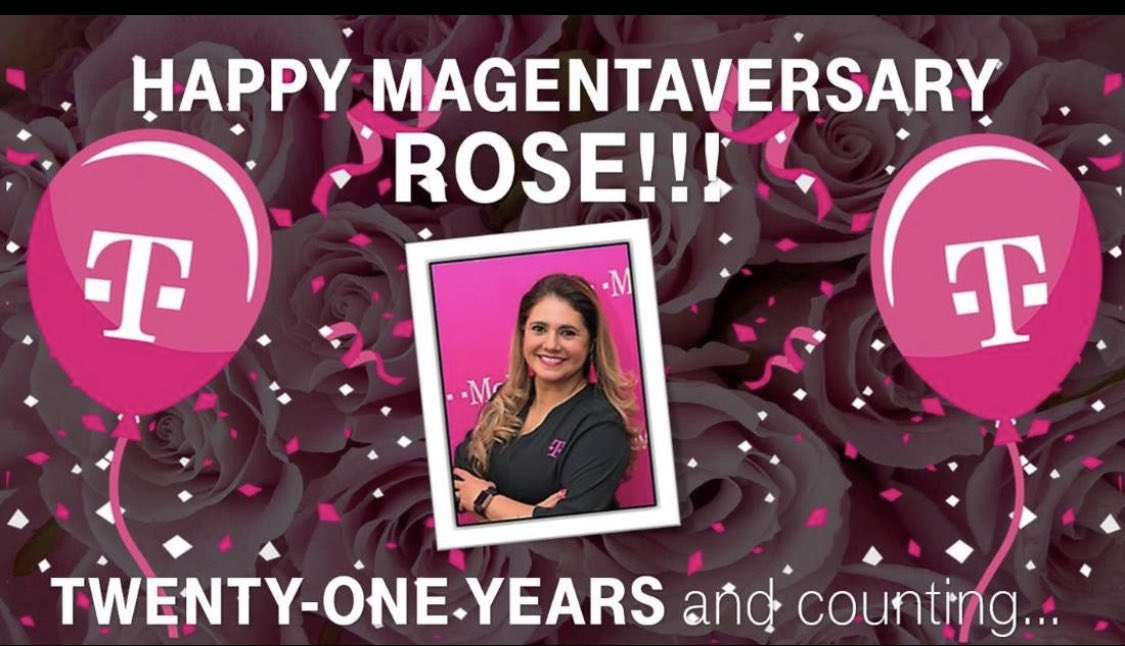 Please join me in wishing a very Happy Work Anniversary to @RRivera0822 thank you for all that you do every day for the Coastal South and the South Region (we would be lost without you). Happy 21st T-Day Rose ❤️🙏👊 #CSLoveWhatYouDo #PowerOfLove