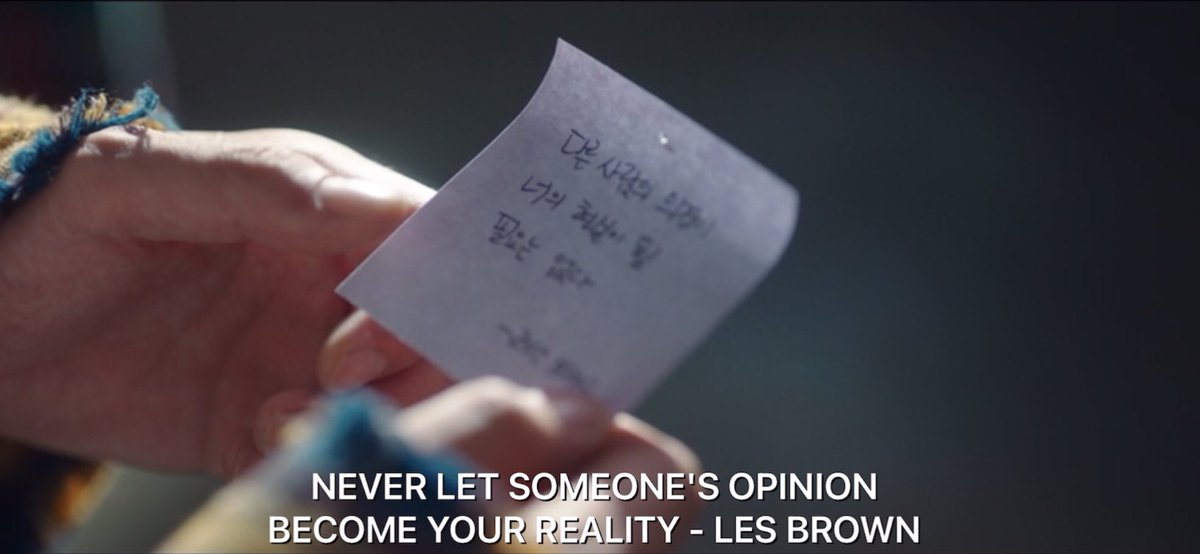 """RT @NetflixQuote: """"Never let someone's opinion become your reality."""" (Les Brown)  #StartUpEp2  #StartUp https://t.co/mPsuAsgOWF"""