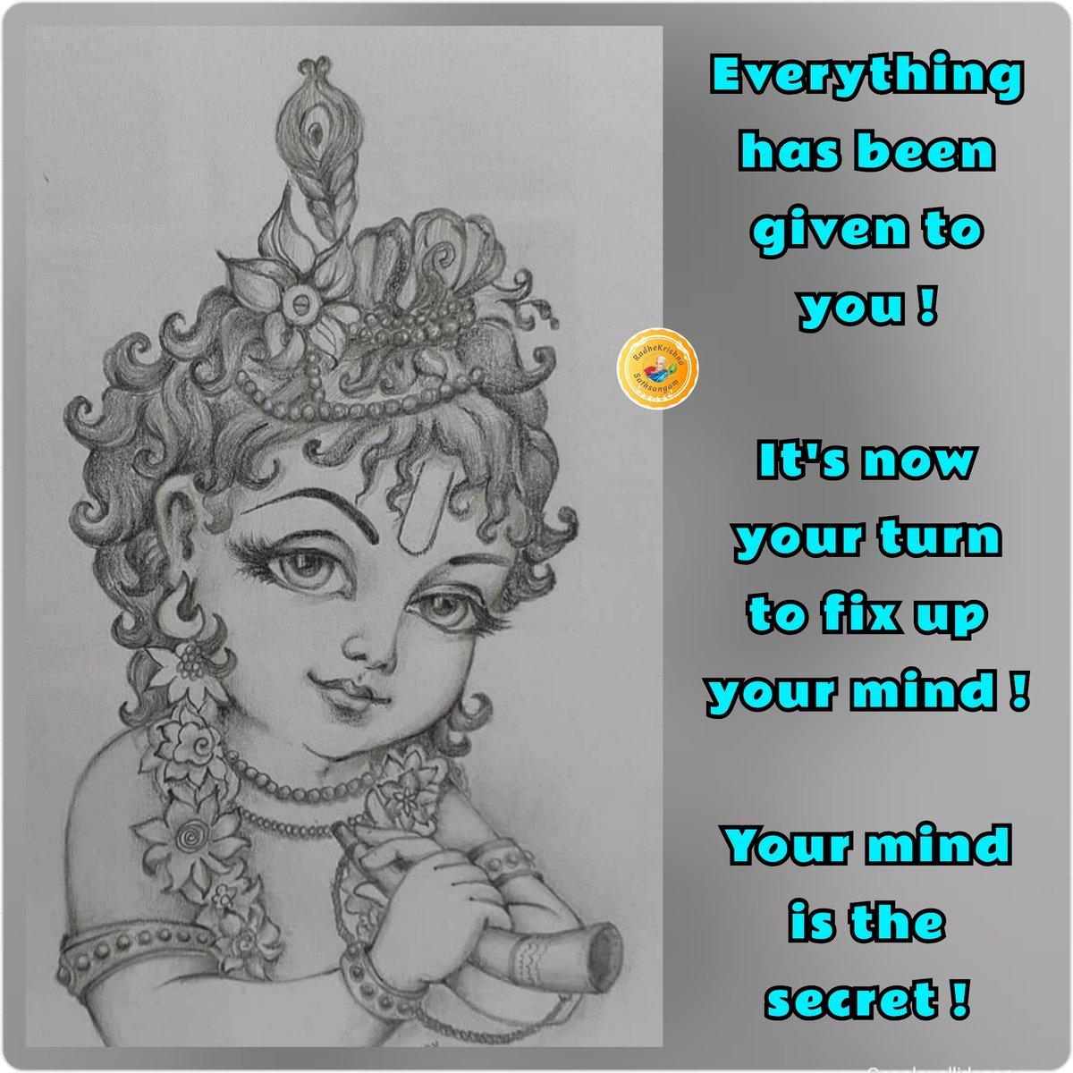 #radhekrishna   #KrishnaMessages   #Mindset https://t.co/majpAPSBjF