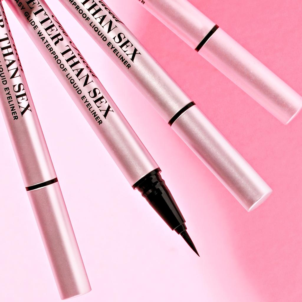 How often do you wear eyeliner? 🖤 Everyday 💖 On The Weekend 💛 Rarely 🤍 Never Create a sharp, fluid, and smudge-proof wing every time with our Better Than Sex Eyeliner. Shop it here: https://t.co/GXXnEPPo20 #betterthansex #toofaced https://t.co/2ddRuhmQbn