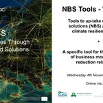 Image for the Tweet beginning: Join us for #ACTonNBS Webinar