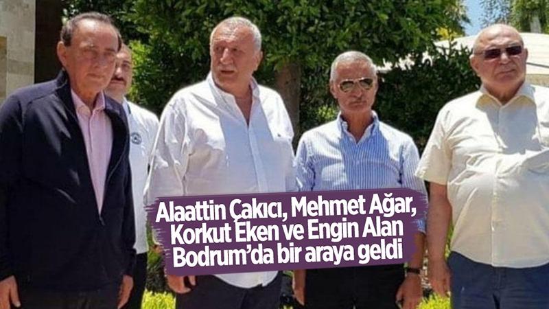 Alaattin Çakıcı, Mehmet Ağar, Korkut Eken ve Engin Alan Bodrum'da bir araya geldi https://t.co/G4ANUSu6qk https://t.co/azTfqVUrrb