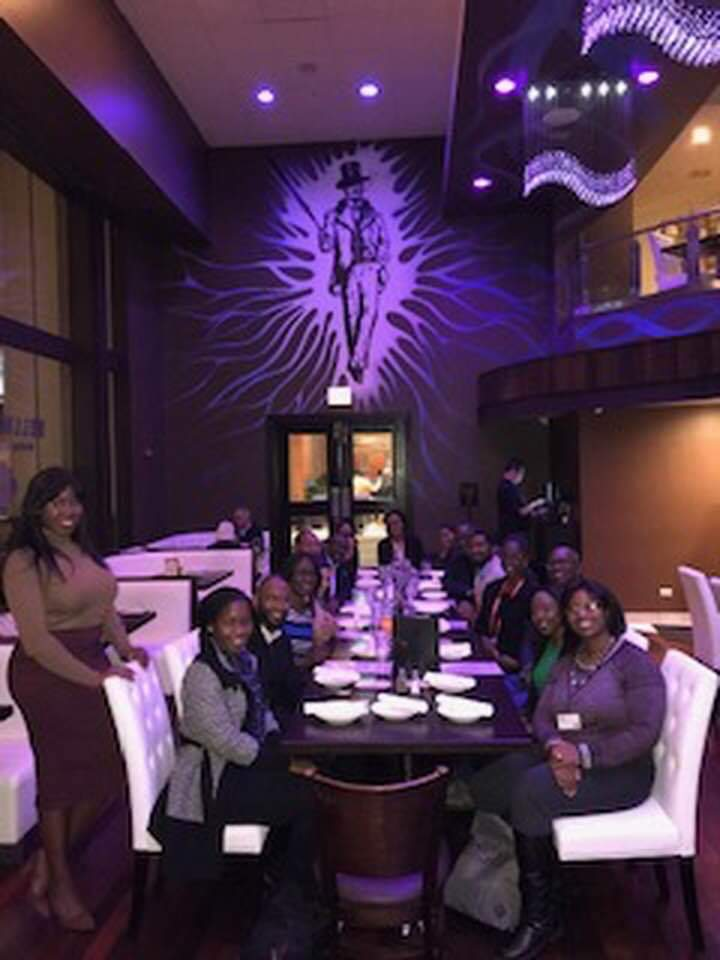 We did this together in person (year 5) last year. This year we will meet virtually #DiversityInGI #BlackMedTwitter #BlackintheIvory https://t.co/jrVFK8CIRt