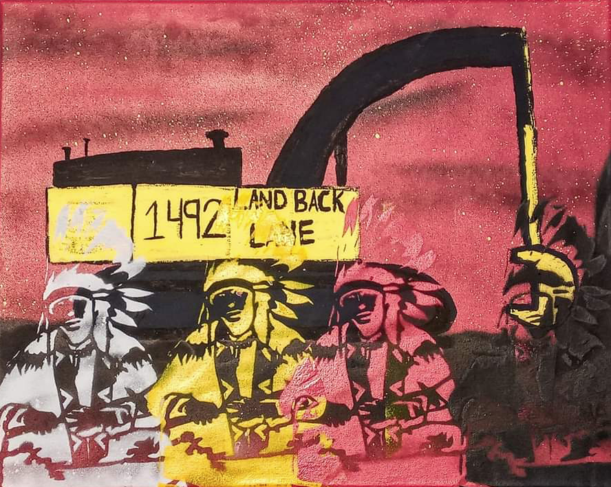 On this episode we spoke with Skyler Williams, spokesperson for @1492LBL, an ongoing reclamation of Six Nations territory. We talked about the repression people there are facing, the recent solidarity day of action, & the 2006 reclamation of Kanonhstaton. treyfpodcast.com/2020/10/17/149…