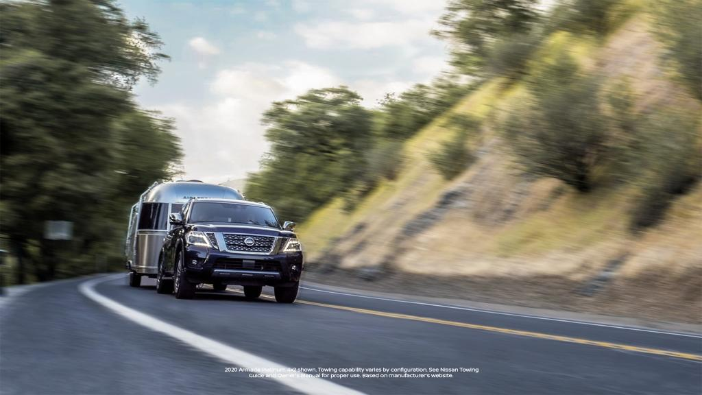 Make the woods your new hustle and bustle. Escape with standard 390HP in the #NissanArmada2020 https://t.co/mgV1rw1Zlt