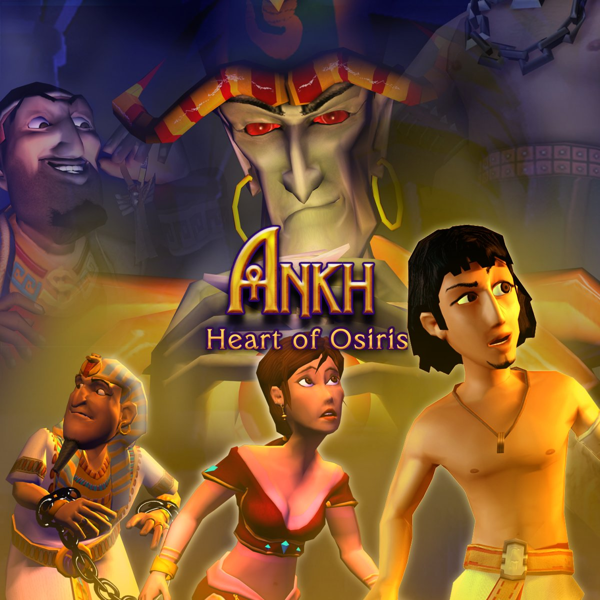 Two great classics from Strategy First make a DRM-free comeback on https://t.co/TiMFdAcy7Z!   Follow the adventures of Assil and get both Ankh 2: Heart of Osiris & Ankh 3 : Battle of the Gods –75% off 💰  👉 https://t.co/HrKA0ylOVI 💜 https://t.co/0h1gAvrR6k