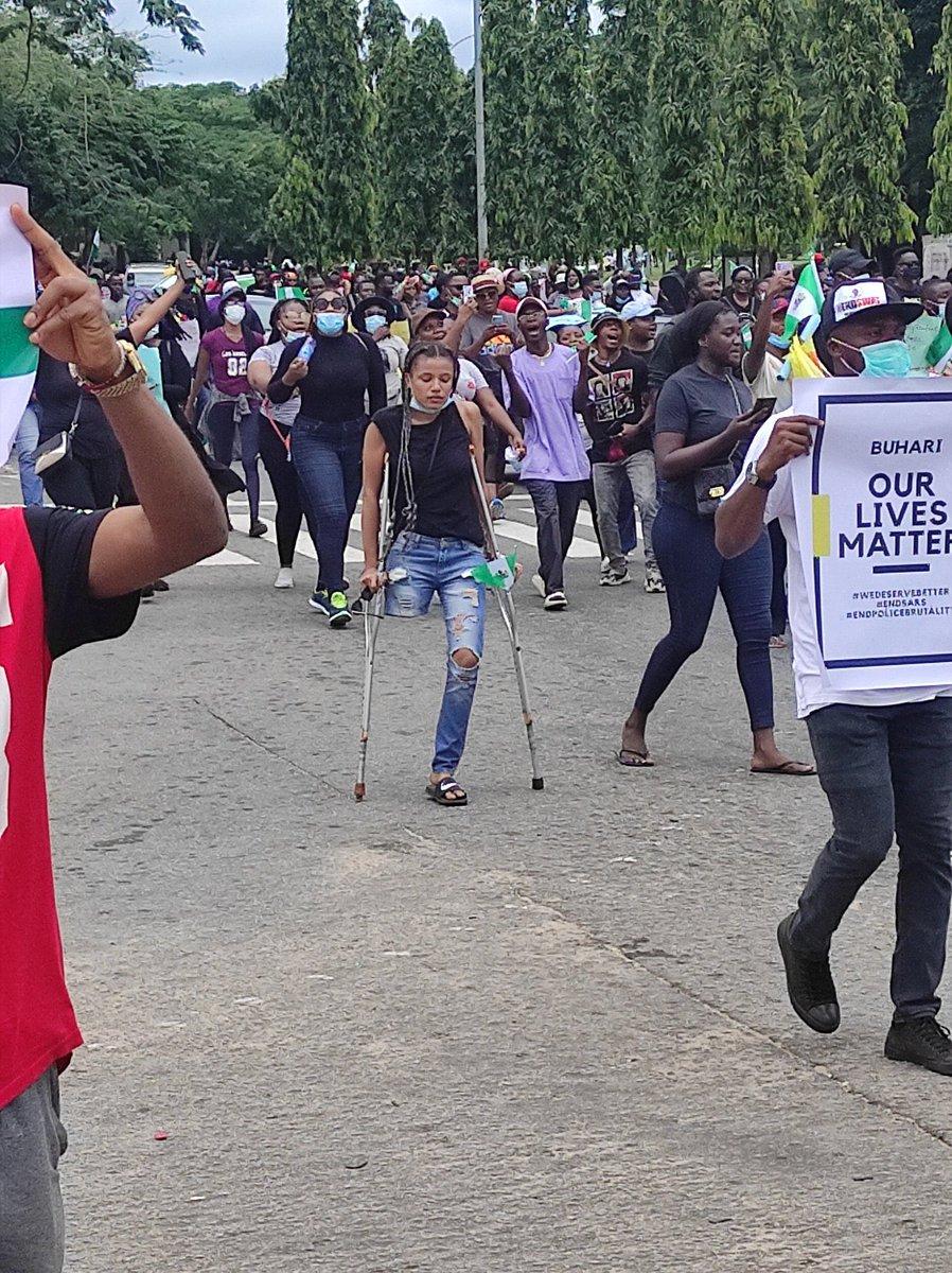 Just incase you got tired! 💚 💚💚🙏🏽 #EndSARS #EndPoliceBrutalityinNigera #ENDBADGOVERNANCE