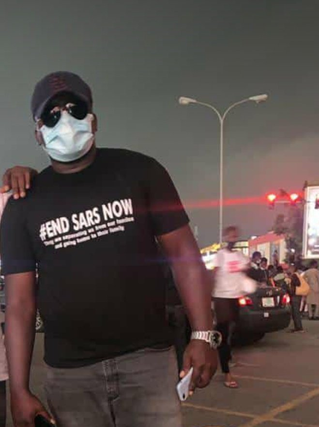 Yesterday they beat a friend of my mine due to #EndSARS protest today hes dead. RIP TONY 💔😢