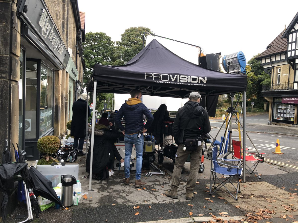 Filming today #BenRhydding #Ilkley https://t.co/QcJJOSSzJe