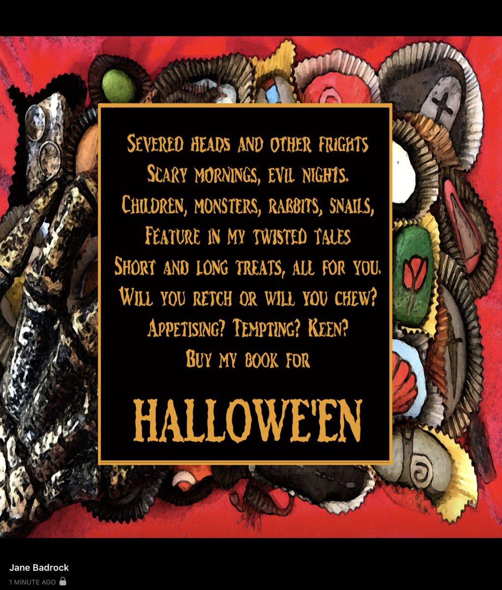#freebook #Halloween2020 #horror #humournoir bit.do/shockalot