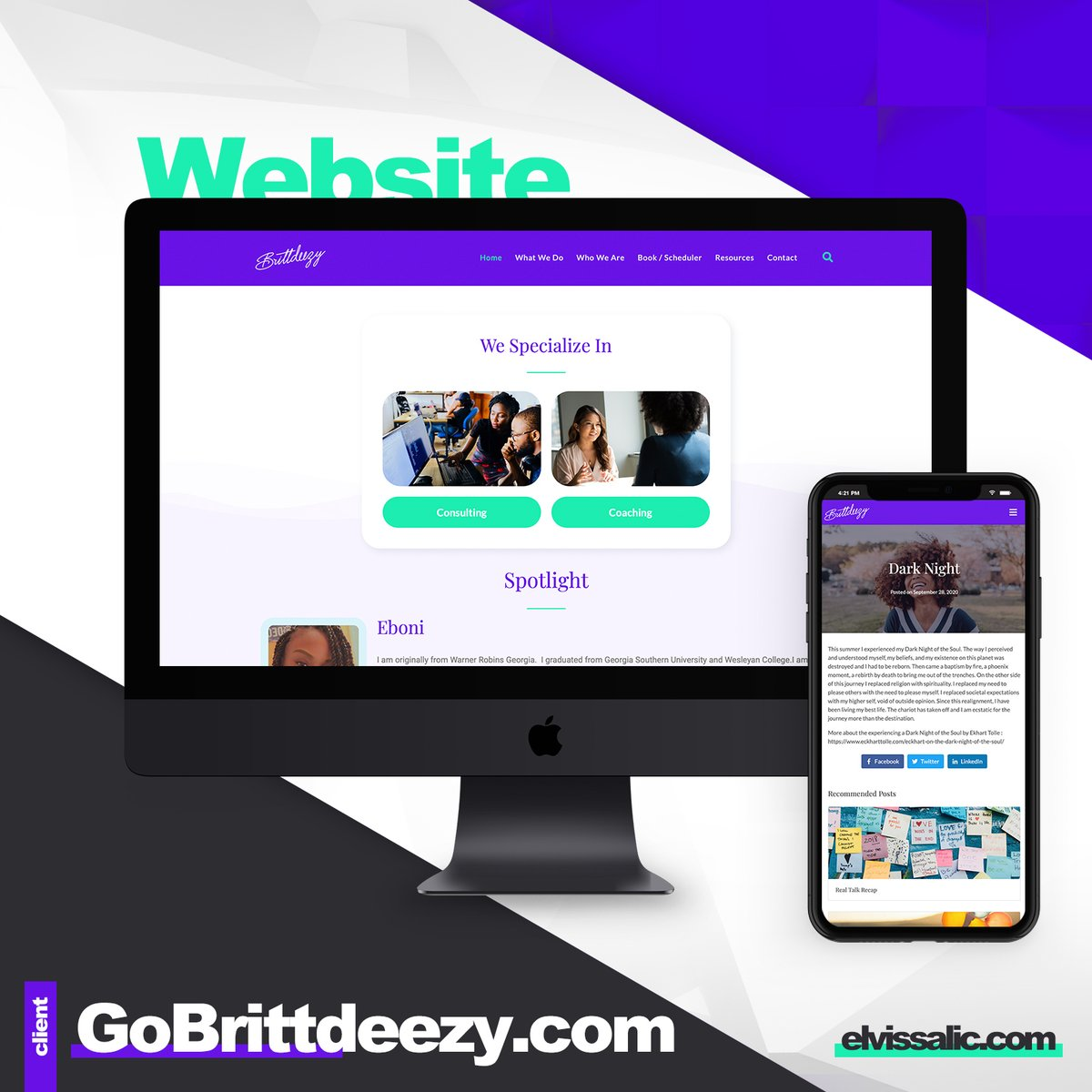 Website development for https://t.co/ScFdljC6zh   #graphicdesign #website #webdevelopment #sitedesign #websitedesign #webdesign #wordpress #mentalhealth #personaljourney #consulting #lifecoach #therapist #businessconsulting #personaldevelopment #selfcare #leadership https://t.co/pc2EInqQPn