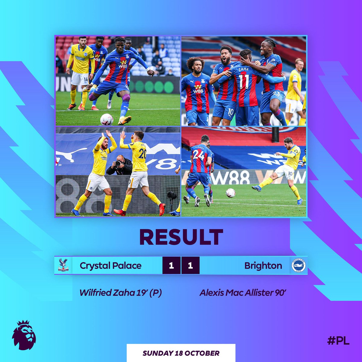 Crystal Palace-Brighton and Hove Albion
