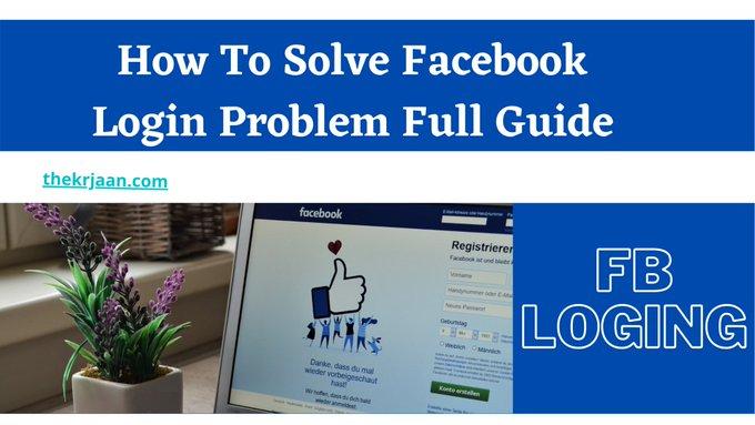 Facebook Login Problem