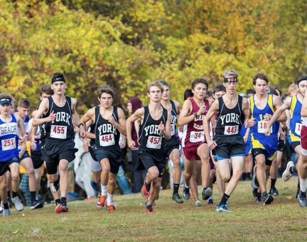 test Twitter Media - Today in Wildcat History 10.18.19: Eli Hulstrom, Joe Neal, Josiah Mackaman, Gabe Sarno, Alex Hames, Cavin McNamara and Brady Harrod lead York to its 2nd consecutive Western Maine Conference Championship! @YHSWildcats https://t.co/uTIeZG3rCB