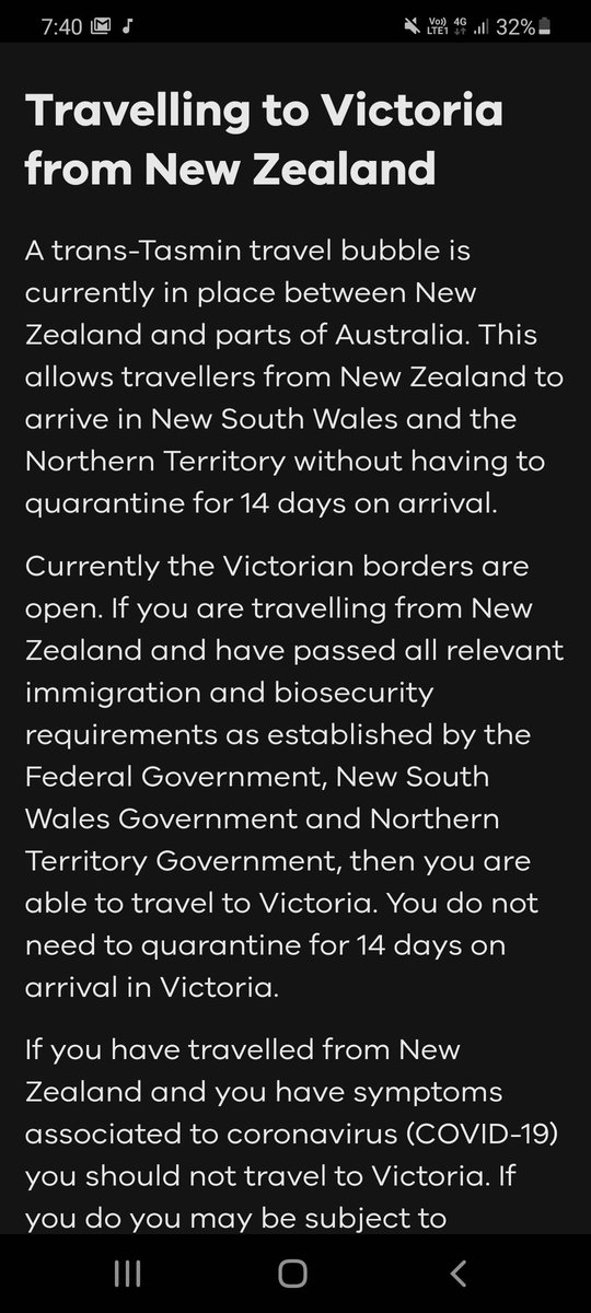 "If you have any doubt that Daniel Andrews plays the media for fools, have a look at his Govt's advice re the ""scary"" Kiwi travel bubble that has had him demanding landing cards off the federal government. https://t.co/JUY37yXTgB"